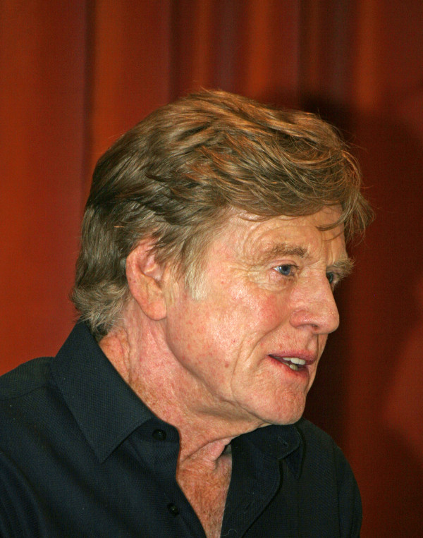 "Robert Redford at the New York press conference for ""The Company You Keep"" 
