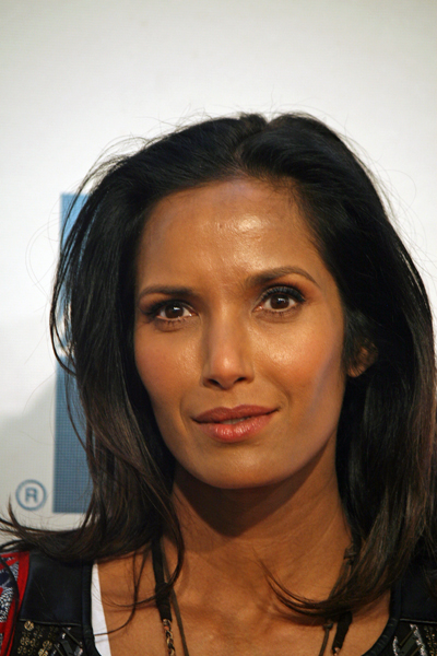 Padma Lakshmi appeared at the Tribeca Film Festival for the premiere of Sunlight Jr. | Melanie Votaw Photo
