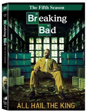 breaking bad season 5 dvd bluray includes 8minute bonus