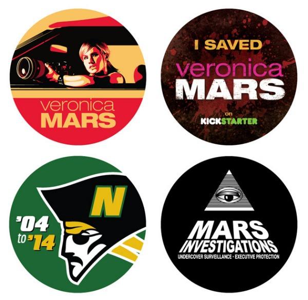 Veronica Mars Movie Stickers