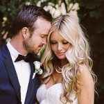 Aaron Paul and Lauren Parsekian Get Hitched in Malibu