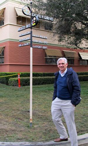 Bill Kaser on Disney Street