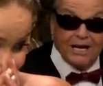 Backstage at the Oscars: Jennifer Lawrence Meets Jack Nicholson