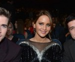 People's Choice Awards: Jennifer Lawrence, Josh Hutcherson and Liam Hemsworth