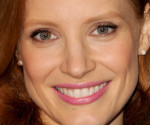 Jessica Chastain: Lovely in Floral at the 2013 Oscar Nominations Luncheon