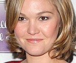 Julia Stiles in Lovely Red at The Makeover Premiere