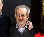 Daniel Day-Lewis, Steven Spielberg and Sally Field at Lincoln Madrid Premiere