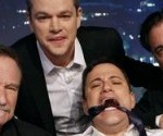 VIDEO: Matt Damon Takes Over Jimmy Kimmel, Friends Show in Solidarity