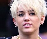 Miley Cyrus Channels Blondie in New Punk Hairdo
