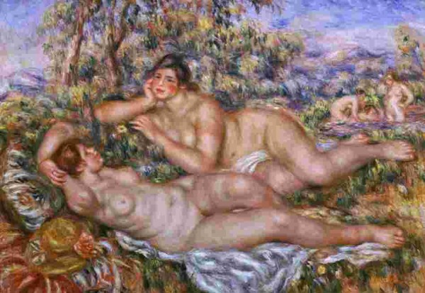 The Bathers by Renoir