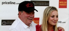 Hollywood Charity Horse Show: Shatner and Cuoco