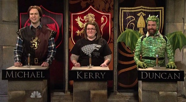 saturday night live video game of game of thrones n