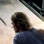 'World War Z' Poster: Brad Pitt's in a Plane