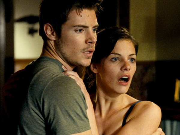 "Josh Henderson and Haley Webb in ""Rushlights"""