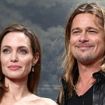 Angelina Jolie and Brad Pitt at the Berlin Premiere of 'World War Z'