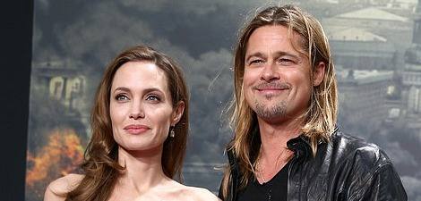 Brad and Angie: World War Z Berlin Premiere