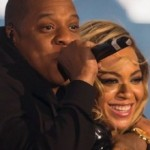 Beyonce and Jay-Z at the Chime for Change Concert in London