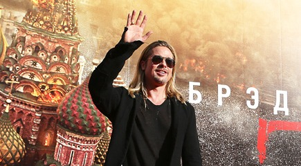 World War Z: Brad Pitt at the Moscow Premiere