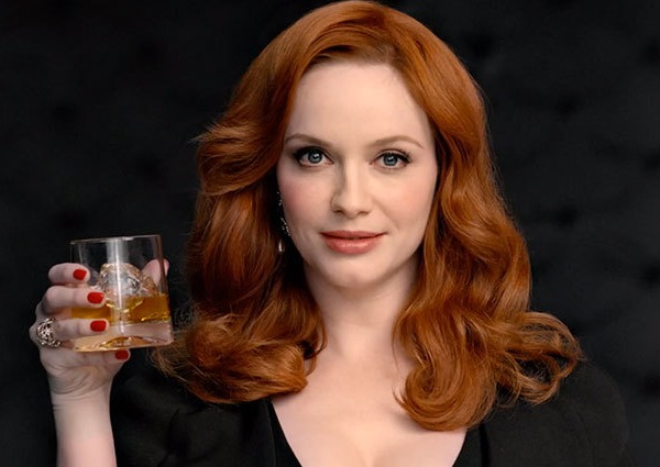Christina Hendricks' Johnny Walker Ad