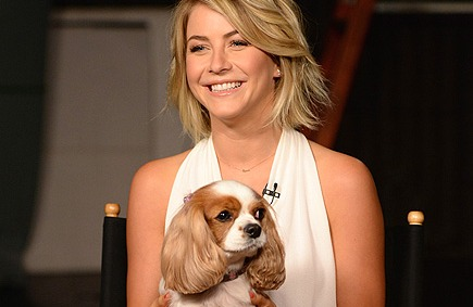 Julianne Hough and Pooch Lexi