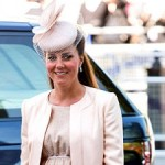 Pregnant Kate Middleton Looks Adorable in Pink Outfit With Matching Coat
