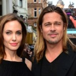 Brad Pitt and Angelina Jolie at the 'World War Z' Premiere