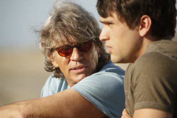 "Eric Roberts and Adam Horner in ""The Perfect Summer"""