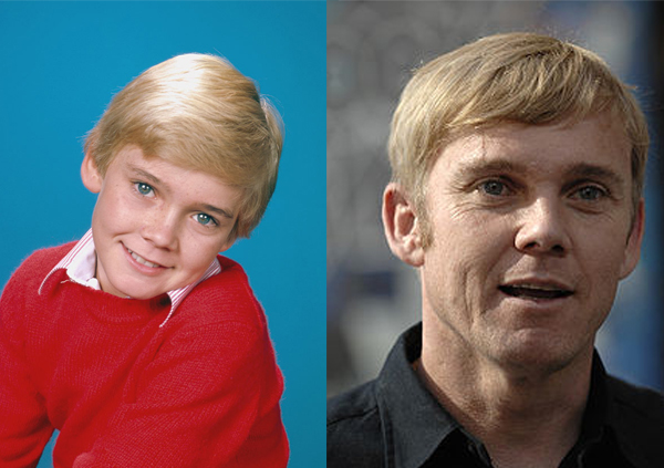 Child actor Ricky Schroder and Ricky Schroder today as an actor, writer, and director
