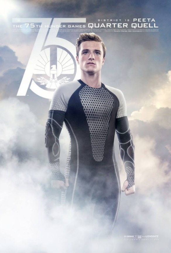 The Hunger Games: Catching Fire Peeta Poster