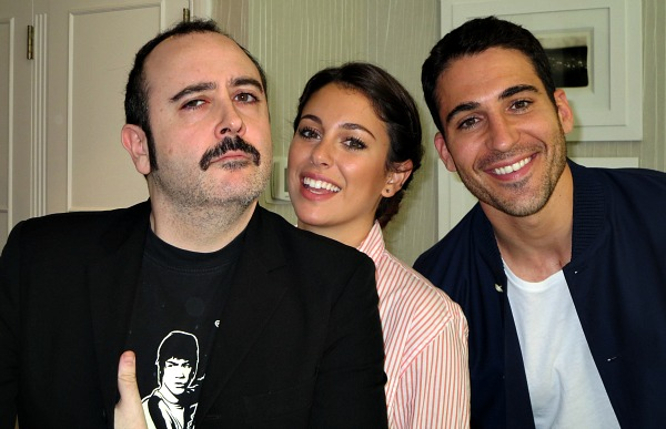 Carlos Areces, Blanca Suarez and Miguel Angel Silvestre