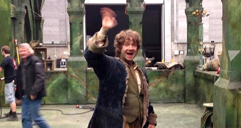 The Hobbit: Martin Freeman as Bilbo Baggins