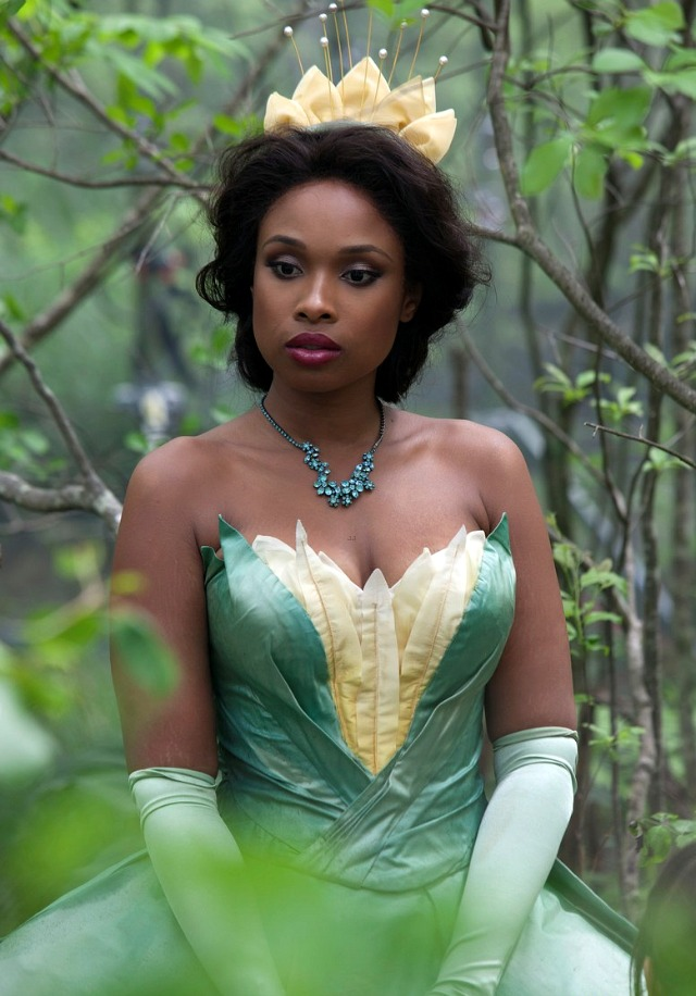 Jennifer Hudson as Disneys Princess Tiana  Reel Life With Jane
