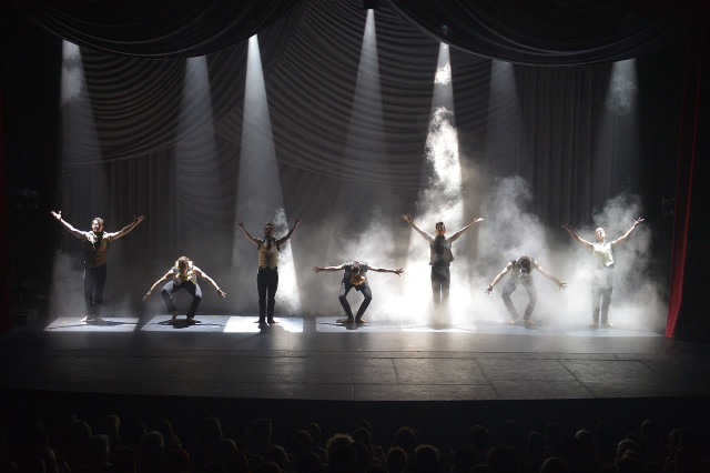 """Shaping Sound"" during their first national tour"