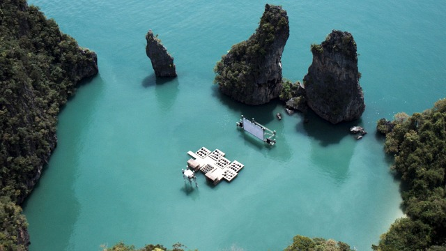 Thailand's Floating Cinema