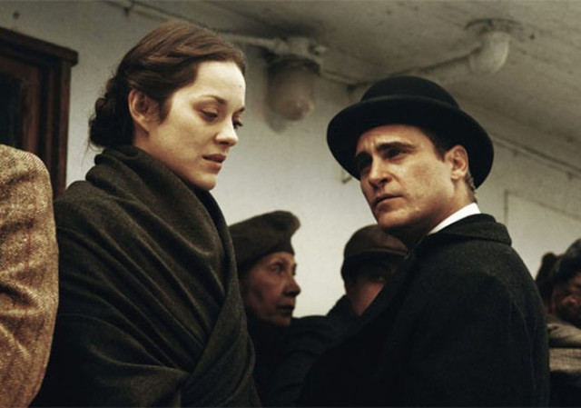 "Marion Cotillard and Joaquin Phoenix in ""The Immigrant"""