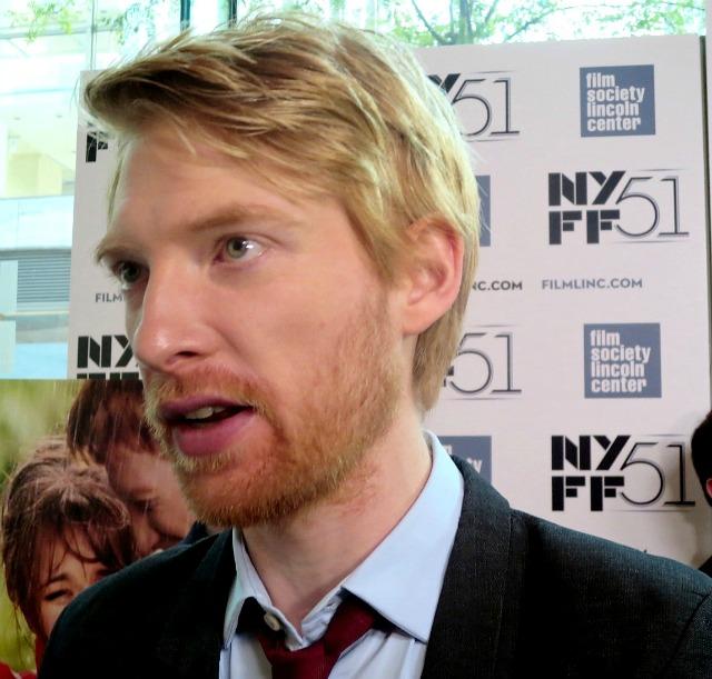NYFF 2013 Domhnall Gle...