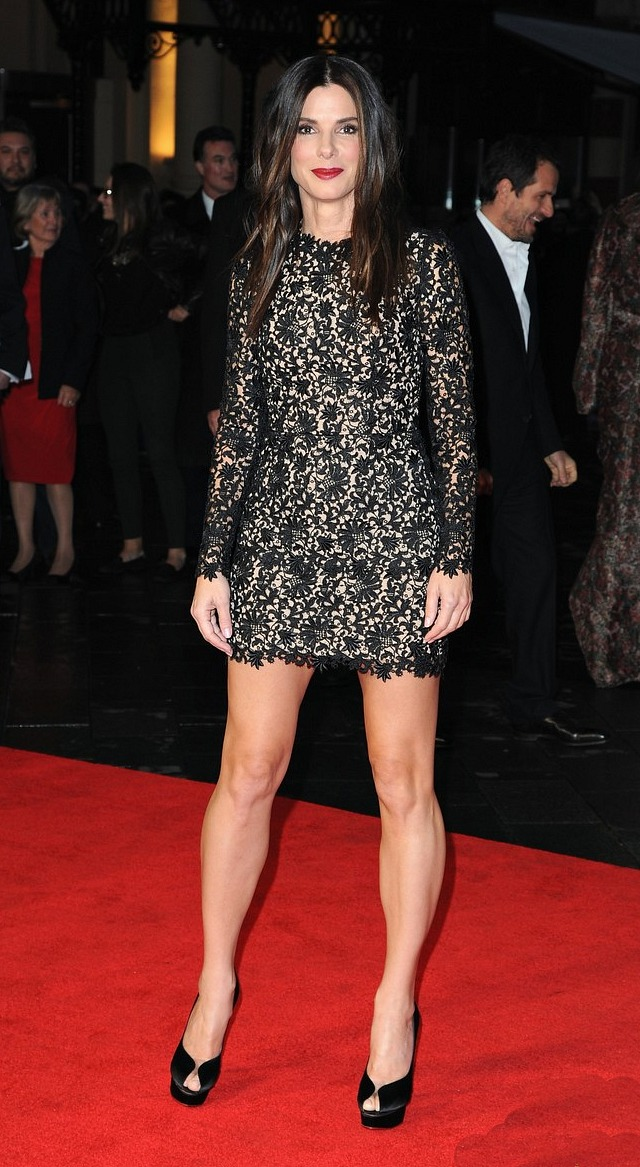 Sandra Bullock, Gravity Premiere in London