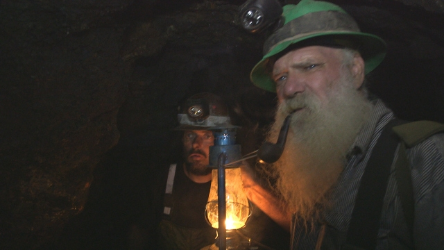Ghost Mine: Greybeard hears a noise from beyond the grave.