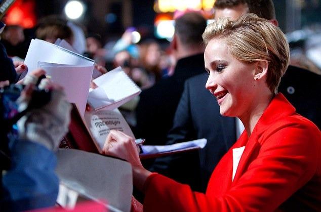 Jennifer Lawrence Catching Fire London 5