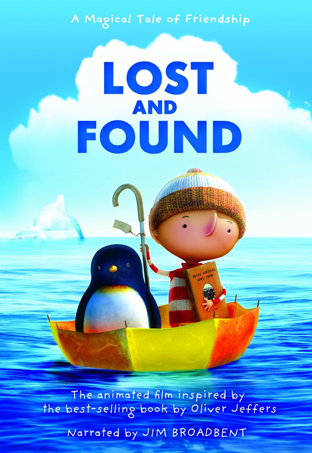 children s dvd review oliver jeffers lost amp found