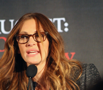 "Julia Roberts at the press conference for ""August: Osage County"" 