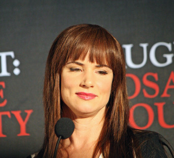 "Juliette Lewis at the press conference for ""August: Osage County"" 
