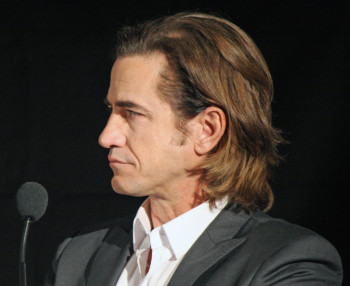 "Dermot Mulroney at the press conference for ""August: Osage County"" 