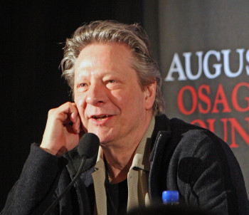 "Chris Cooper at the press conference for ""August: Osage County"" 