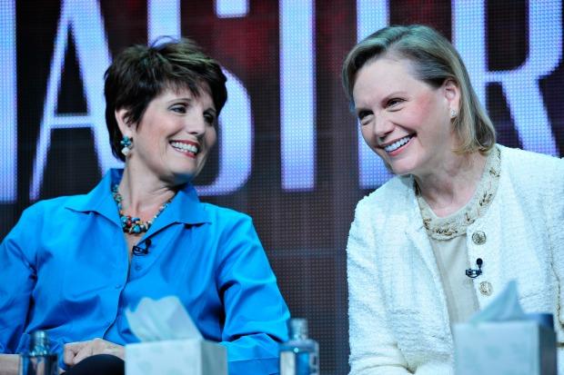 Lucie Arnaz and Terre Blair Hamlisch