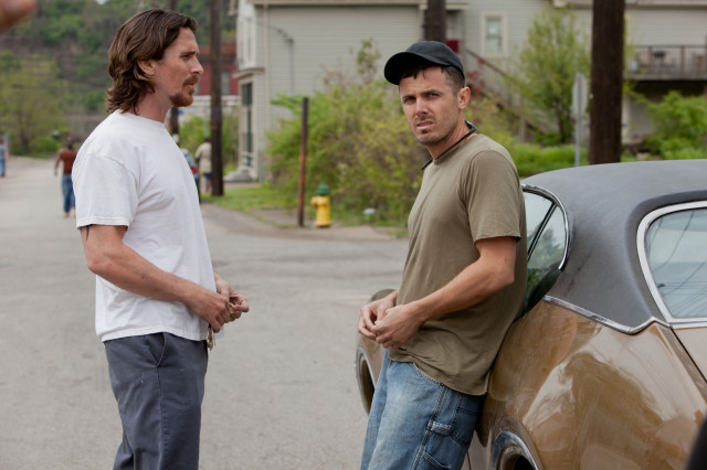 "Christian Bale and Casey Affleck in ""Out of the Furnace"" 