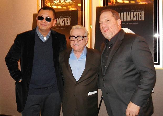 Wong Kar Wai, Martin Scorsese, Harvey Weinstein