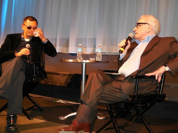 Wong Kar Wai and Martin Scorsese