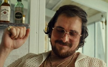 Christian Bale in American Hustle