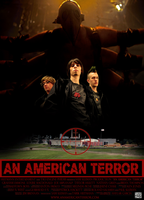 An American Terror Poster